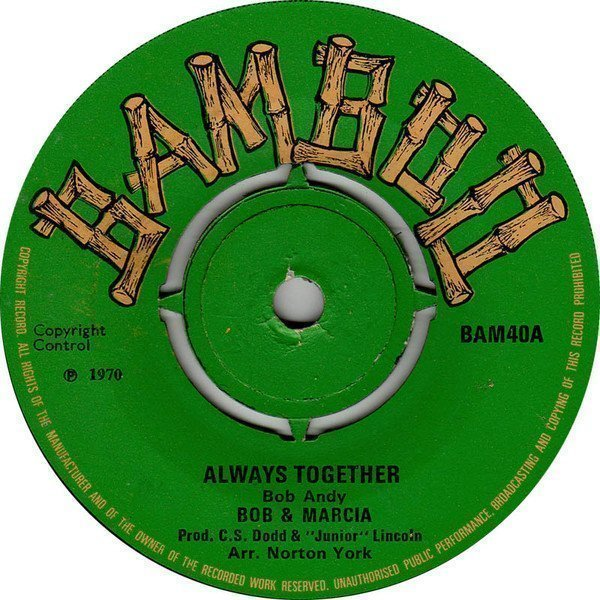 Bob And Marcia - Always Together / Desperate Lover