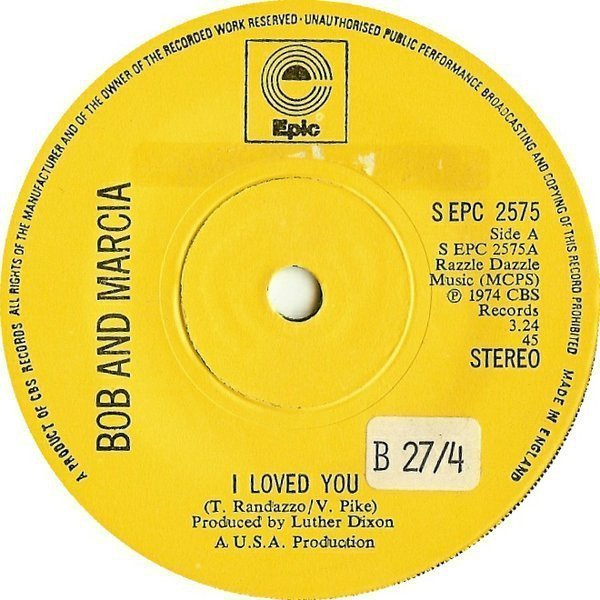 Bob And Marcia - I Loved You / Kings & Queens
