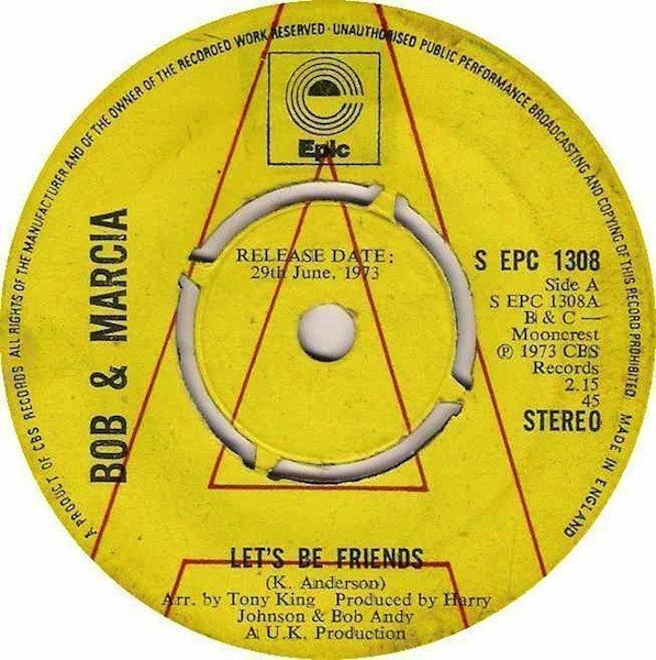 Bob And Marcia - Let