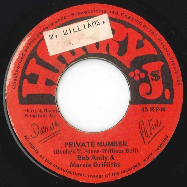 Bob And Marcia - Private Number