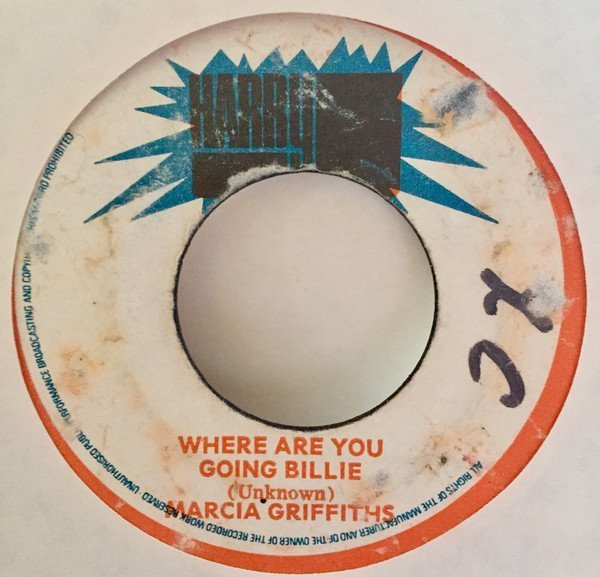 Bob And Marcia - Where Are You Going Billie / Rocking Good Way