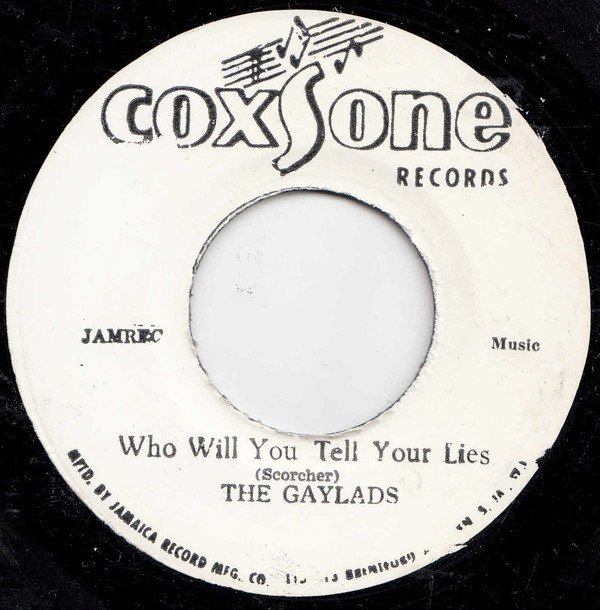 Bob And Marcia - Who Will You Tell Your Lies / Stay In My Lonely Arms