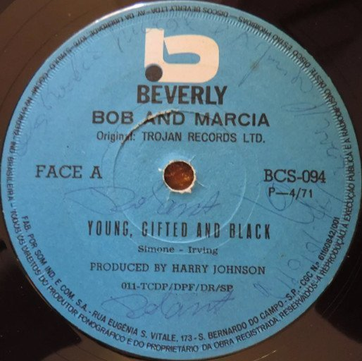 Bob And Marcia - Young, Gifted And Black / We
