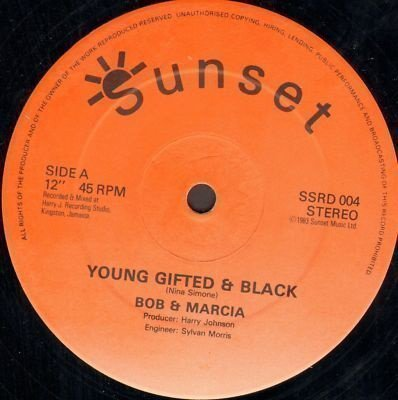 Bob And Marcia - Young Gifted & Black / Cuss Cuss