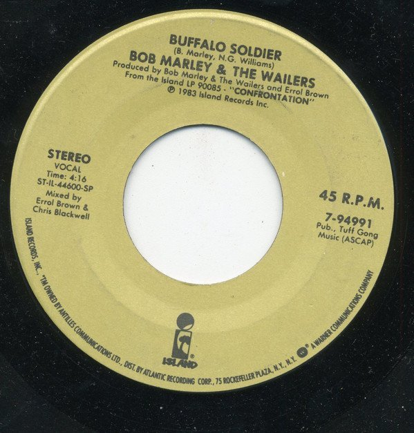 Bob Marley And The Wailers - Buffalo Soldier / Lively Up Yourself