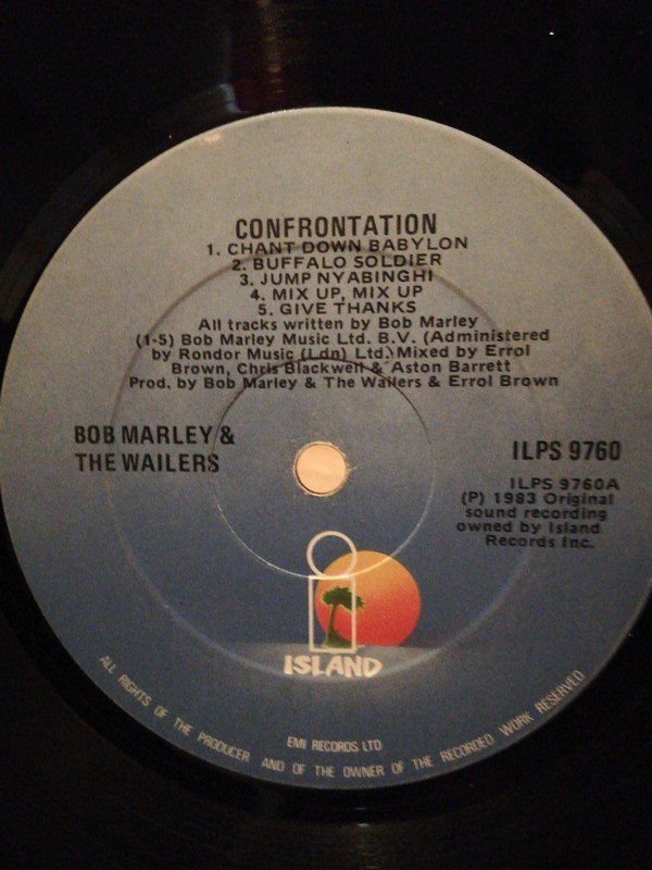 Bob Marley And The Wailers - Confrontation