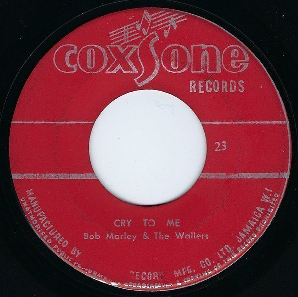 Bob Marley And The Wailers - Cry To Me / Wages Of Love