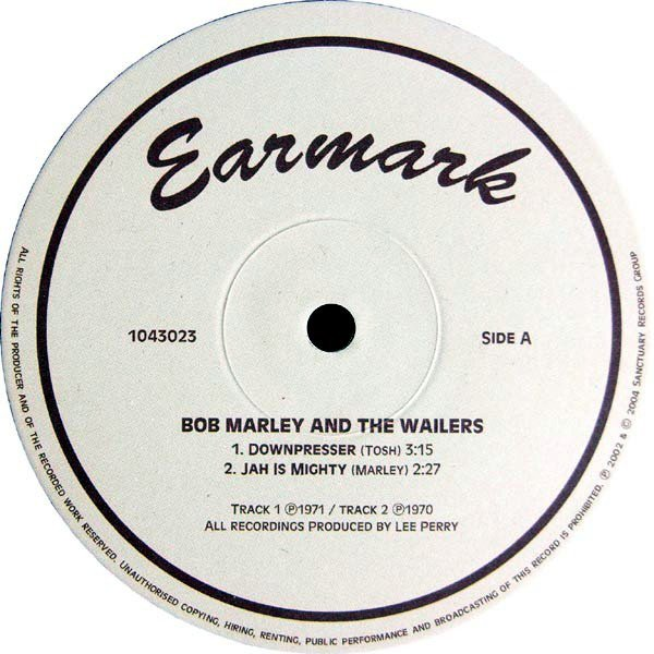 Bob Marley And The Wailers - Downpresser / Brand New Second Hand