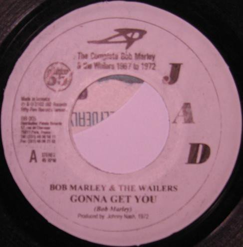Bob Marley And The Wailers - Gonna Get You / Touch Me