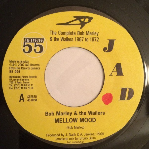 Bob Marley And The Wailers - Mellow Mood / Chances Are