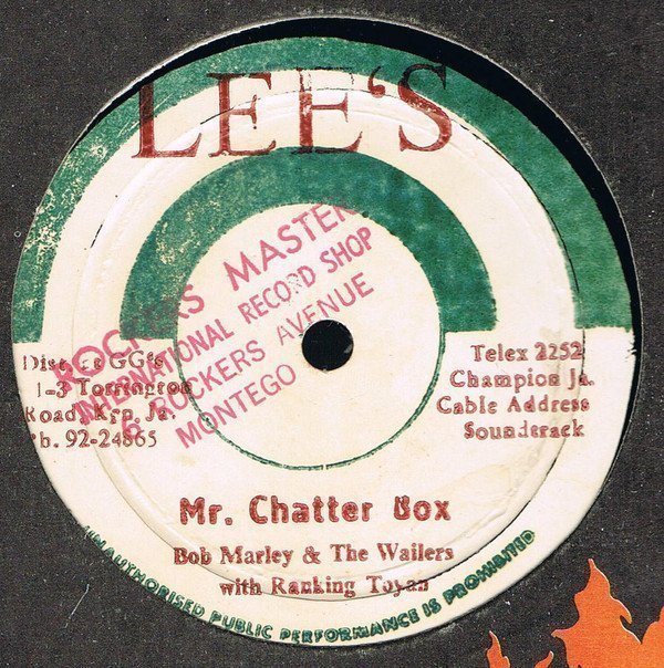 Bob Marley And The Wailers - Mr. Chatter Box / With You Girl
