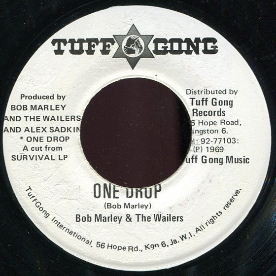 Bob Marley And The Wailers - One Drop