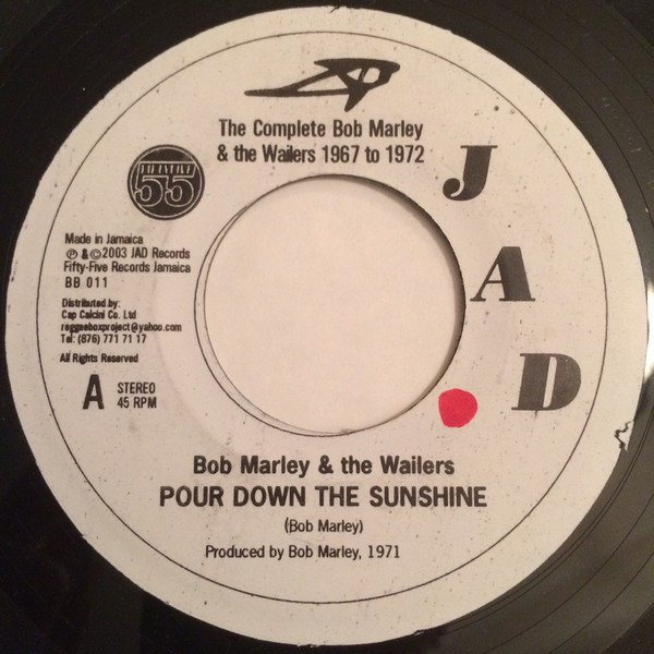 Bob Marley And The Wailers - Pour Down The Sunshine