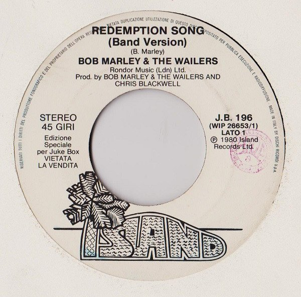Bob Marley And The Wailers - Redemption Song (Band Version) / Official Secrets