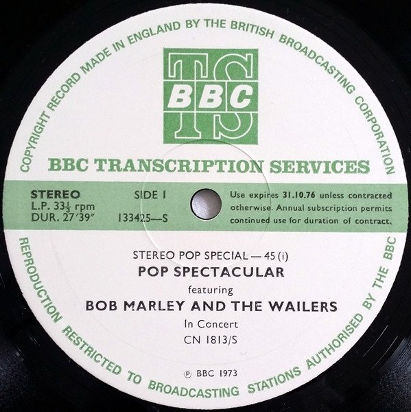 Bob Marley And The Wailers - Stereo Pop Special-45