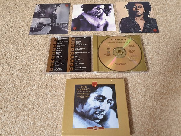 Bob Marley And The Wailers - The Very Best Of The Early Years 1968-74 - Limited Collectors Edition