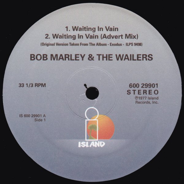 Bob Marley And The Wailers - Waiting In Vain / Stir It Up