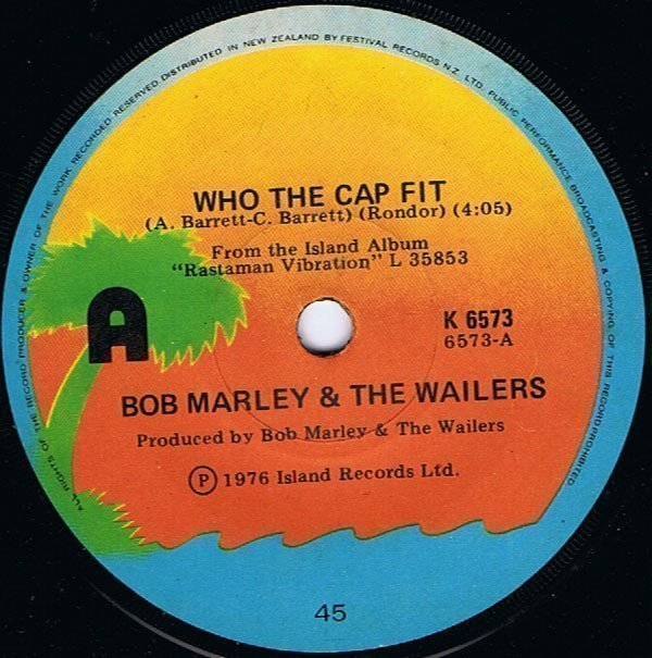 Bob Marley And The Wailers - Who The Cap Fit / Crazy Bald Head