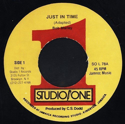 Bob Marley - Just In Time