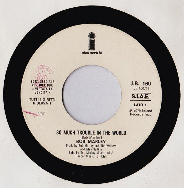 Bob Marley - So Much Trouble In The World / Boogie Down (Get Funky Now)