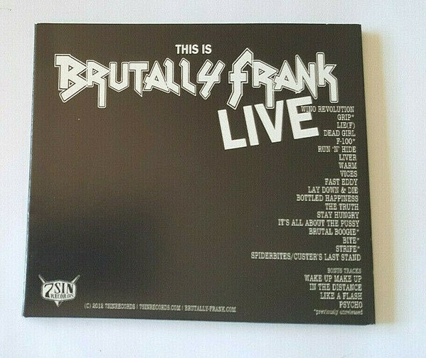 Brutally Frank - This Is Brutally Frank Live