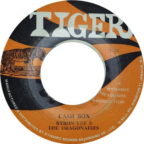 Byron Lee And The Dragonaires - Cash Box / We Five
