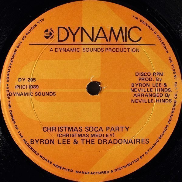 Byron Lee And The Dragonaires - Christmas Soca Party