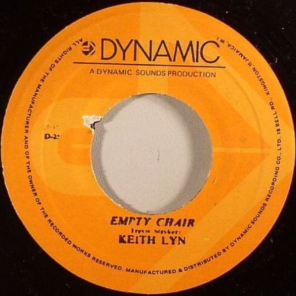 Byron Lee And The Dragonaires - Empty Chair / Musical Pressure