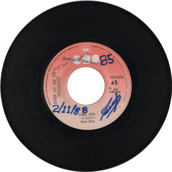 Byron Lee And The Dragonaires - Gimme Soca / Don