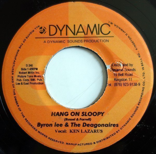 Byron Lee And The Dragonaires - Hang On Sloopy