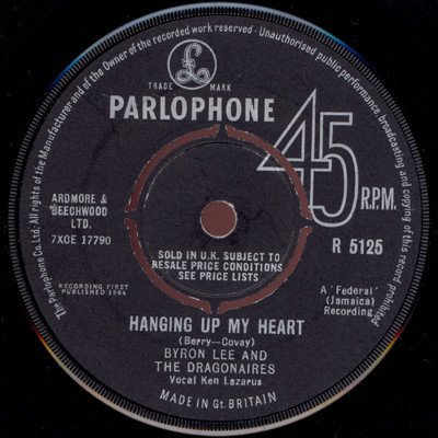 Byron Lee And The Dragonaires - Hanging Up My Heart