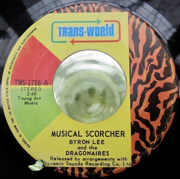 Byron Lee And The Dragonaires - Musical Scorcher/ More Scorcher