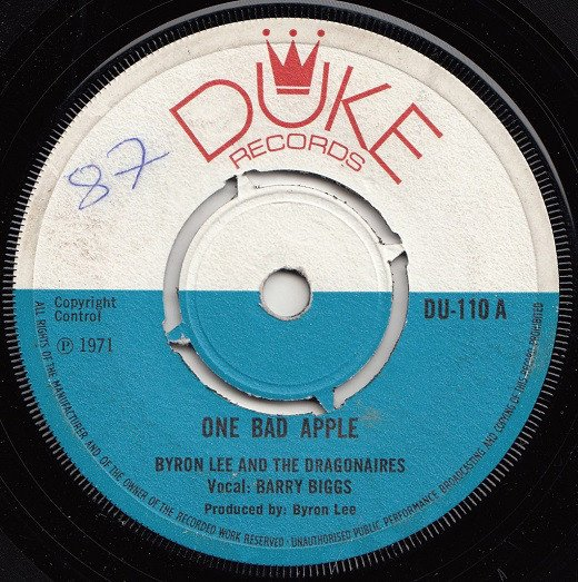 Byron Lee And The Dragonaires - One Bad Apple