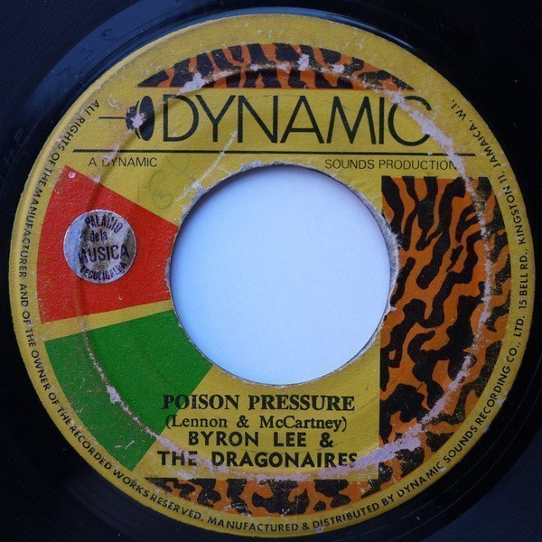 Byron Lee And The Dragonaires - Poison Pressure