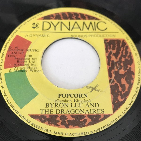 Byron Lee And The Dragonaires - Popcorn