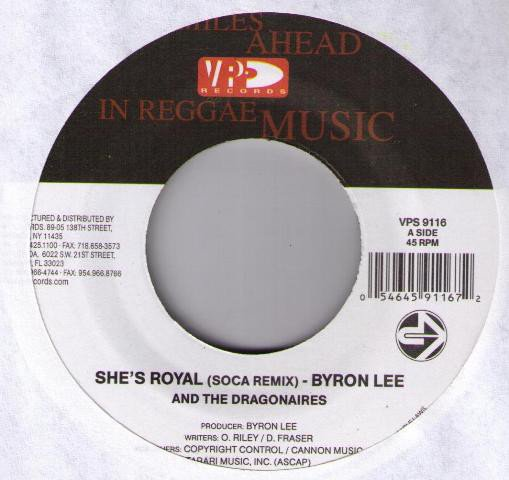 Byron Lee And The Dragonaires - She