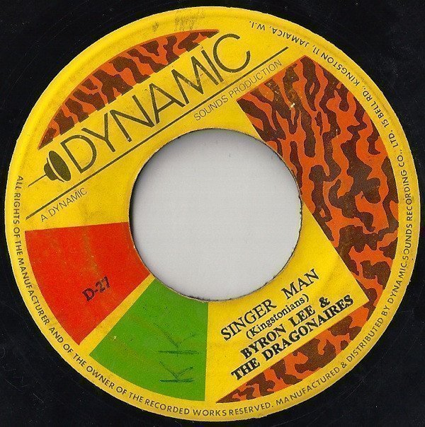 Byron Lee And The Dragonaires - Singer Man / Freedom Street