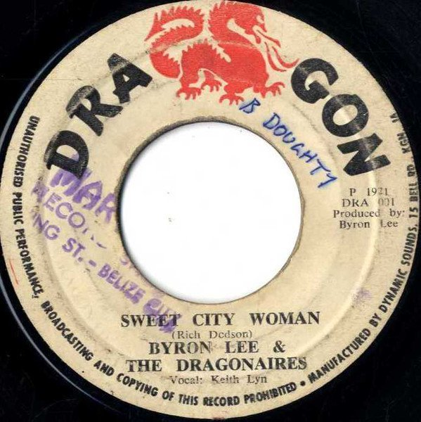 Byron Lee And The Dragonaires - Sweet City Woman