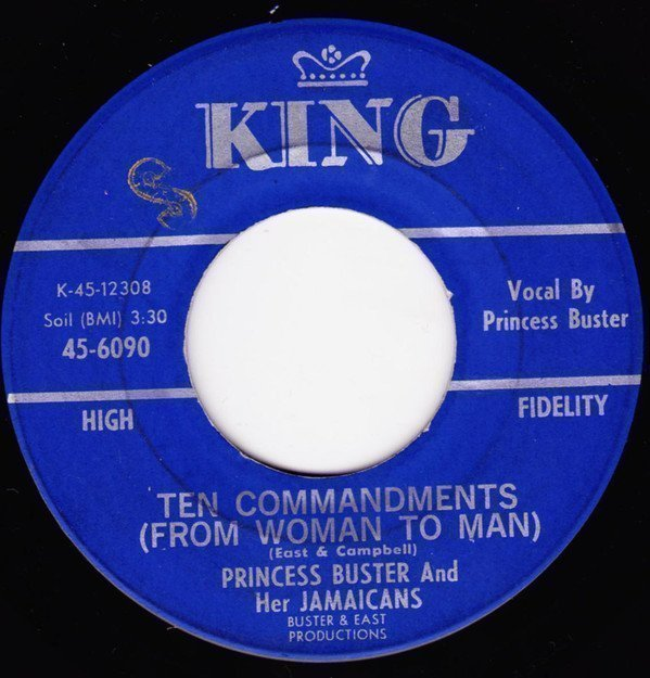Byron Lee And The Dragonaires - Ten Commandments (From Woman To Man) / Papa Jack