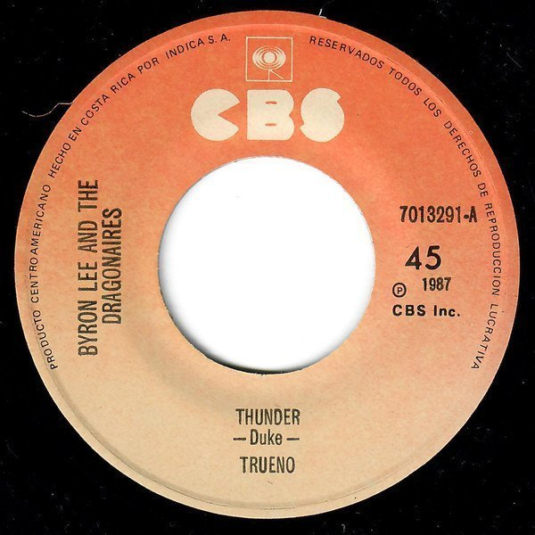 Byron Lee And The Dragonaires - Thunder / Rockin