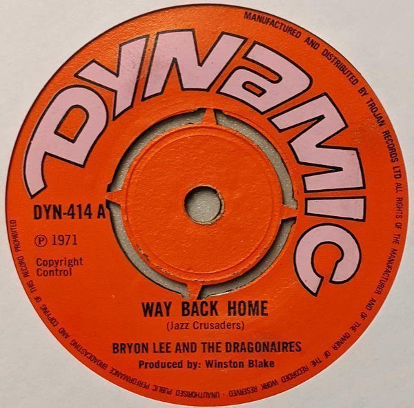Byron Lee And The Dragonaires - Way Back Home