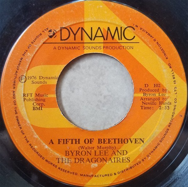 Byron Lee  The Dragonaires - A Fifth Of Beethoven / Have Mercy