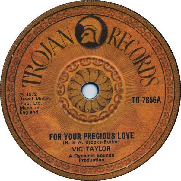 Byron Lee  The Dragonaires - For Your Precious Love / For Your Precious Love (Version)