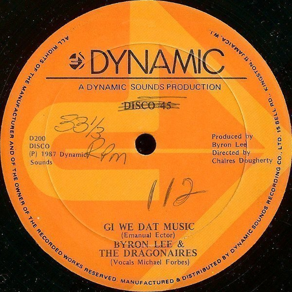 Byron Lee  The Dragonaires - Gi We Dat Music