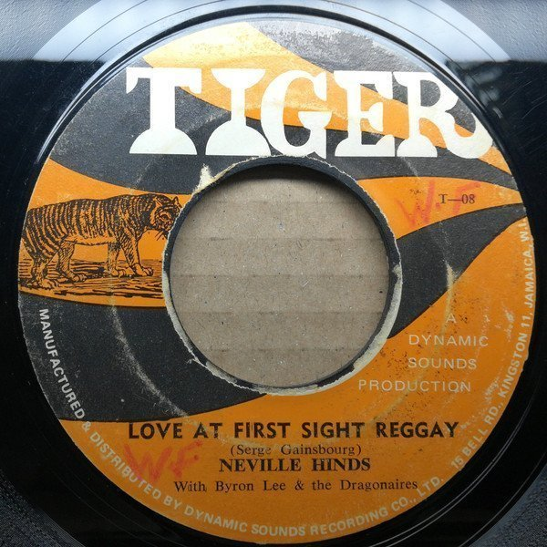 Byron Lee  The Dragonaires - Love At First Sight Reggay