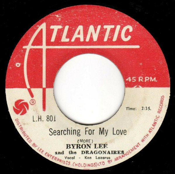 Byron Lee  The Dragonaires - Searching For My Love / Dumplins