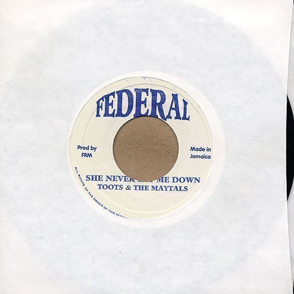 Byron Lee  The Dragonaires - She Never Let Me Down / River To The Bank