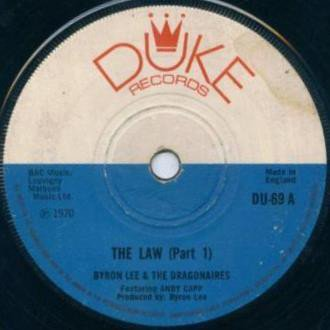 Byron Lee  The Dragonaires - The Law (Part 1) / The Law (Part 2)