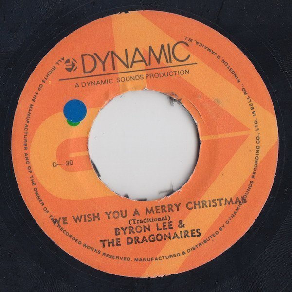 Byron Lee  The Dragonaires - We Wish You A Merry Christmas