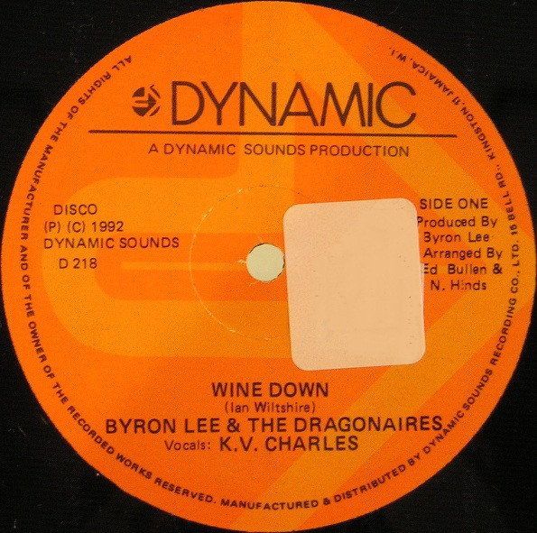 Byron Lee  The Dragonaires - Wine Down